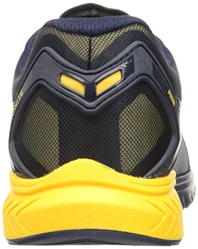 Puma Mens Ignite Dual Breathe Cross-Trainer Shoe Peacoat-ultra Yellow