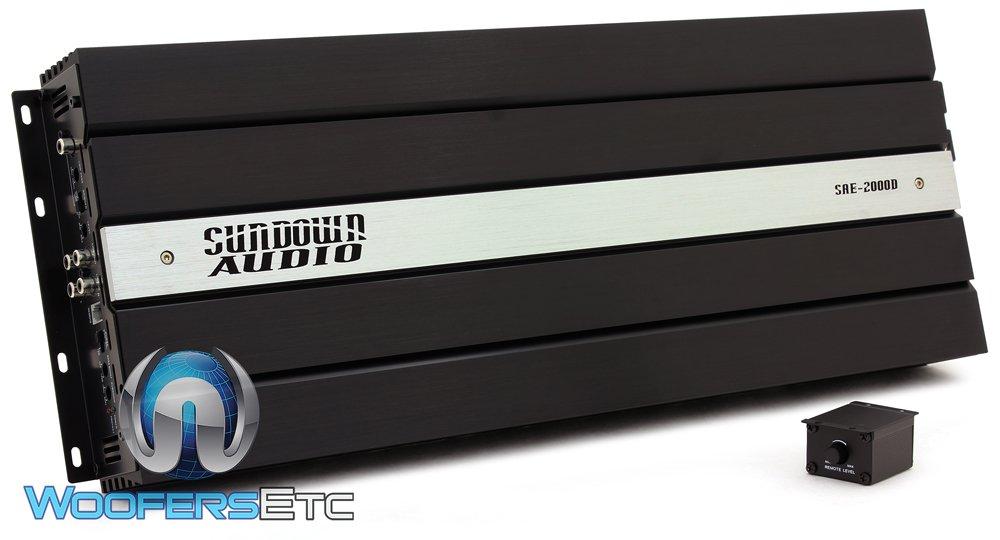 Sundown Audio SAE-2000D Monoblock 2000W RMS Class D Amplifier