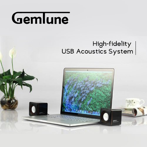 AL-202, High-fidelity USB Acoustics System, Powered by USB, for Laptops and Desktops, Cube Speakers, Gemini Doctor by Gemini Doctor (Image #5)