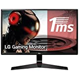 LG 24MP59G-P Monitor, 24-Inch Screen, LCD, 1920 x 1080, 16: 9, 0 USB, Hertz Hertz