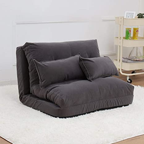 Pleasing Amazon Com Wswqwl Lazy Couch Folding Single Small Apartment Machost Co Dining Chair Design Ideas Machostcouk