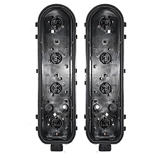 Silhouette Tail Light Circuit Board - Driver and Passenger Taillights Circuit Boards Replacement for Chevrolet Oldsmobile Pontiac Van 12335926 12335927