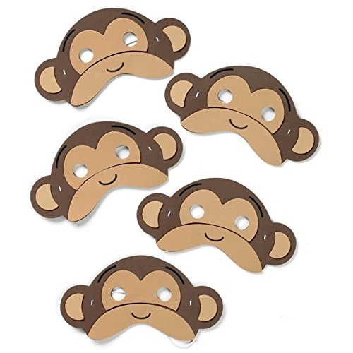 Five Little Monkeys - Foam Play Masks