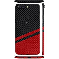 GADGETS WRAP Limited Rally Tilt OnePlus 5T 1+5T Black Carbon Red Carbon Fibre Skin for Back