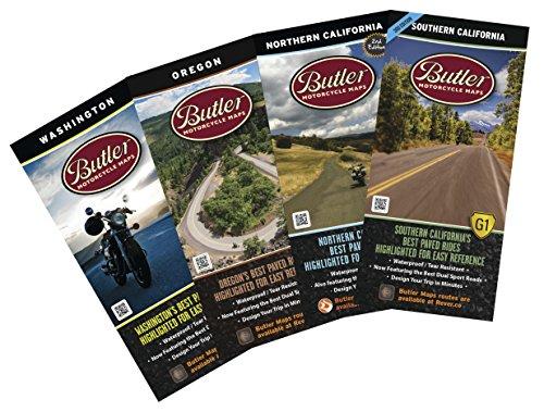 Butler Maps Map Bundles (Pacific Pack)
