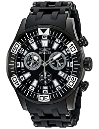 Invicta Men's 19533SYB Sea Spider Analog Display Swiss Quartz Black Watch
