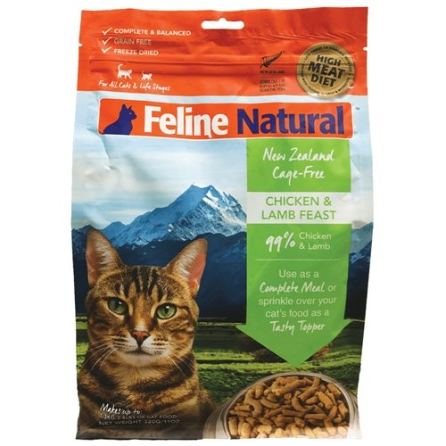Feline Natural Raw Freeze Dried Cat Food