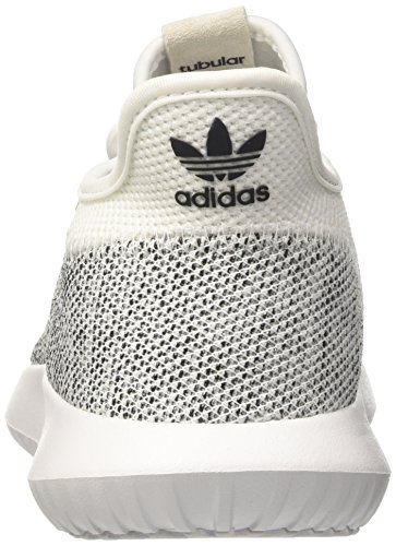 adidas Tubular Shadow Knit, Scarpe Running Uomo Bianco (Ftwwht/Ftwwht/Cblack)
