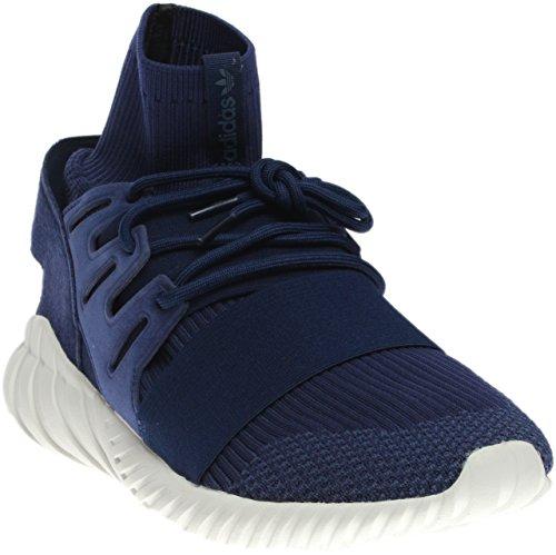 Adidas Tubular Doom PK Round Toe Canvas Sneakers Dark Brown d3WBWgbR