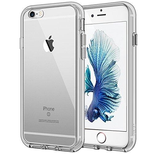 JETech 3205- Funda para iPhone 6 Plus iPhone 6s Plus, Carcasa Bumper, Shock-Absorción, Anti-Arañazos, Gris