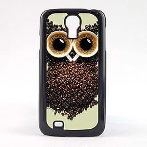 Case Fun Case Fun Coffee Bean Owl Snap-on Hard Back Case Cover for Samsun Galaxy S4 Mini (I9190)