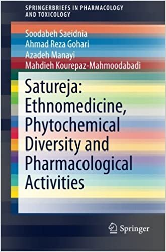 Téléchargement gratuit d\'ebooks en pdf Satureja: Ethnomedicine, Phytochemical Diversity and Pharmacological Activities (SpringerBriefs in Pharmacology and Toxicology) by Soodabeh Saeidnia (2016-01-10) DJVU