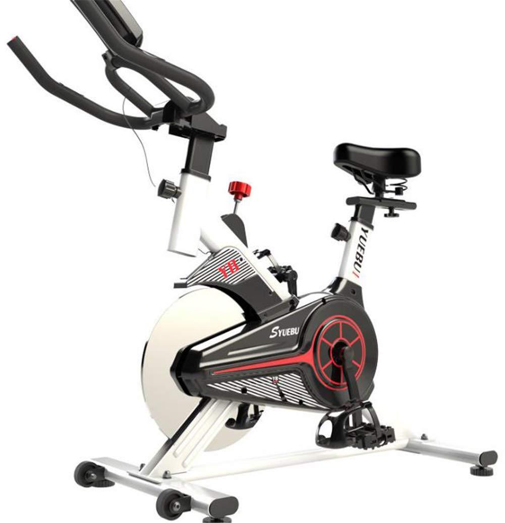 Lcyy-Bike Fahrradtrainer Magnet Widerstand 6 Kg Schwungrad Cardio Workout Mit Multifunktionalem Display Verstellbarer Lenker & Sitzhöhe