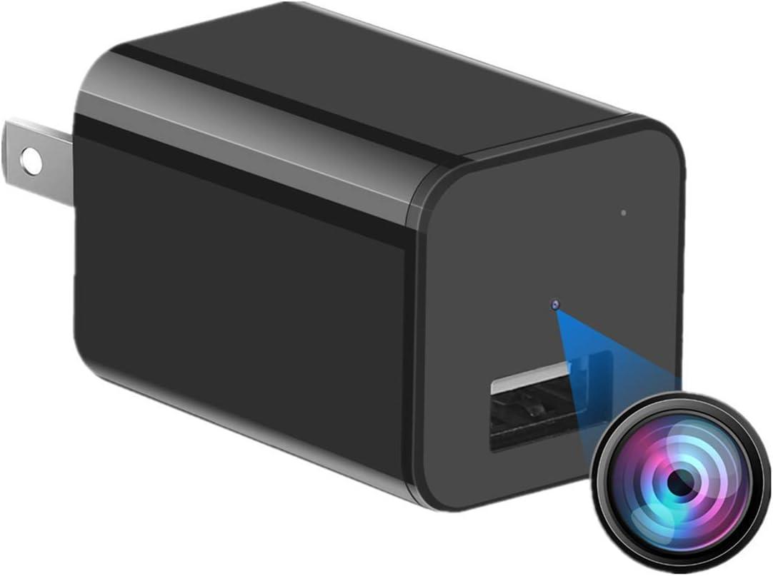 HD 1080P Hidden Camera - Motion Detection Mini Charger Camera- USB Hidden Camera - Surveillance Camera - Mini Spy Camera - Nanny Camera - Spy Camera Charger - Hidden Camera Charger - Spy Camera