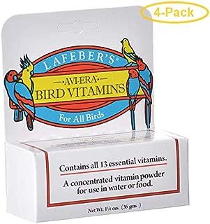 product image for LAFEBER'S Avi-Era Bird Vitamins for All Birds 1.25 oz - Pack of 4