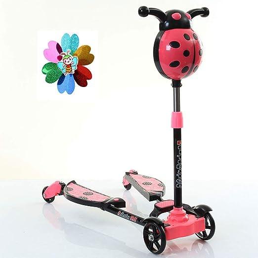 JIXIANG Scooter para Niños Tijeras para Niños Coche Scooter ...