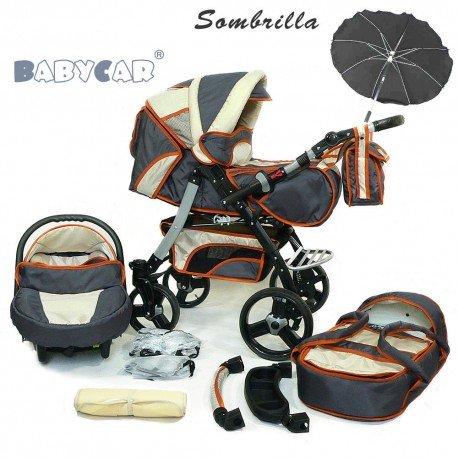 Compradetodobarato - Carrito para bebés 3 en 1 + muchos complementos. 24 colores diferentes: Amazon.es: Bebé