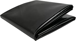 UWIOFF Small Pond Liner, 4 x 7 Feet 20 Mil Pond Skins Pond Liner Black HDPE Pond Liner for Waterfall, Fish Ponds, Garden Fountain(4-Foot by 7-Foot)