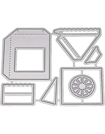 Shangwelluk Casa de Transporte Troqueles Plantillas para Scrapbooking, Papel Fotográfico Tarjetas Artesanía Definen DIY Fabricación