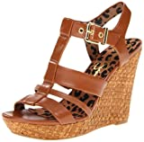 Jessica Simpson Women's JS-Casie2 Wedge Sandal,Light Luggage Brazilera,10 M US
