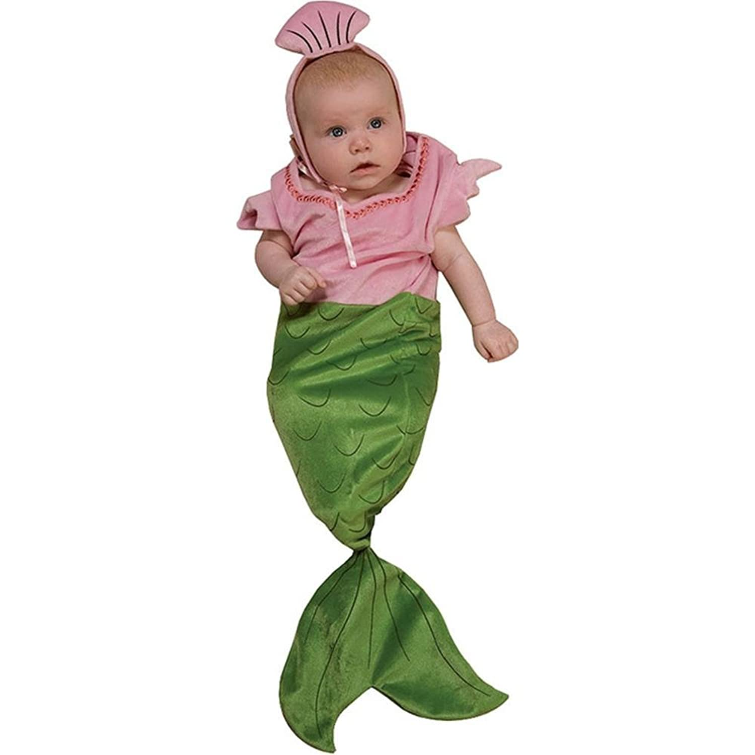 Amazon.com: Rubie\'s Costume Deluxe Baby Bunting, Mermaid Costume ...
