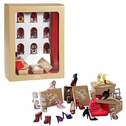 amazon com mattel barbie christian louboutin shoe pack toys games rh amazon com