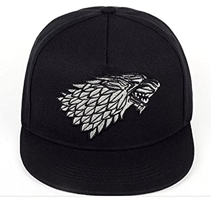 Amazon.com  Baseball Cap Direwolf House Stark of Winterfell Snapback Cap  Game of Thrones  Sports   Outdoors ab53e5f94e8