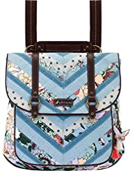 Sakroots-Artist Circle Convertible Backpack Sky Blue