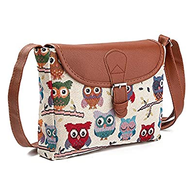 CHAQLIN Cool Animals Purse Shoulder Messenger Bags for Boys Girls