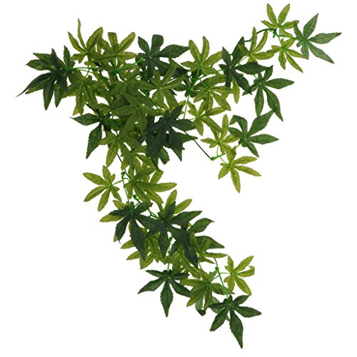 Landscape Plant Artificial Vine Jungle Cage Decoration 30/40/50cm - Type 2-50CM ()