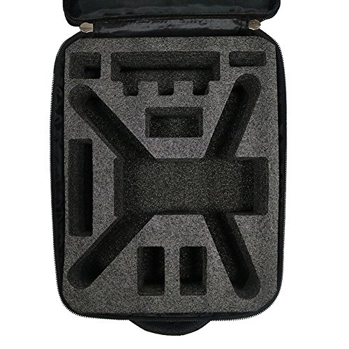 DJI Mavic Pro waterproof Portable Should Bag Protective Travel Backpack Case, Black by RCstyle