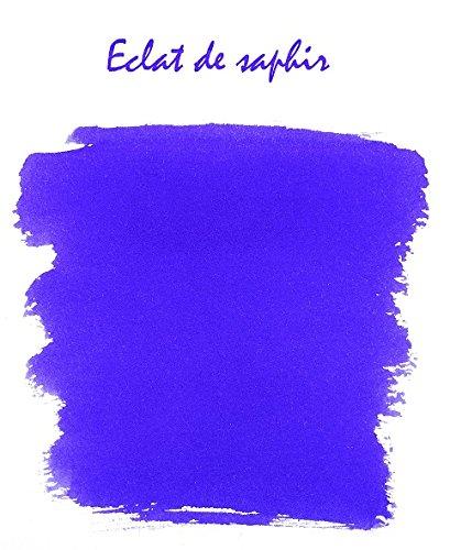 J. Herbin Fountain Pen Ink - 100 ml Bottled - Eclat de Saphir by Herbin (Image #2)