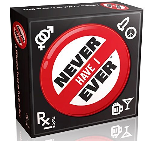 Never Have I Ever - The Classic Drinking Game for Adults - Great Game for a Party or Weekend Night, You Will Laugh Non-stop and You Will Learn Everything About Your Friends When You (Halloween College Stories)