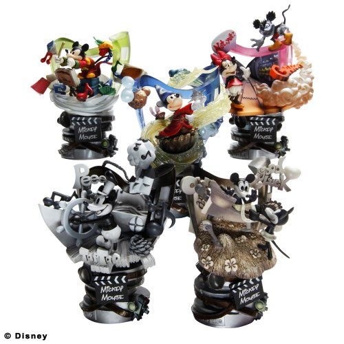 Disney Mickey Mouse Formation Arts set of 5 figures ()