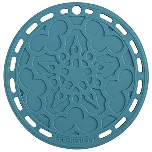 "Le Creuset Silicone French Trivet, 8"" , Caribbean"