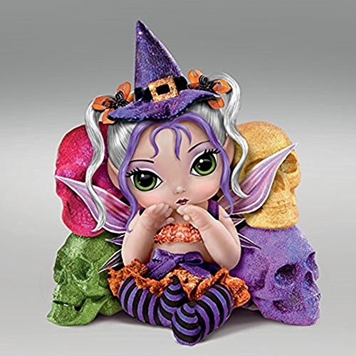[The Bradford Exchange Trick Or Sweet Spell Dolls By Jasmine Becket-Griffith] (Tall Drink Of Water Halloween Costume)
