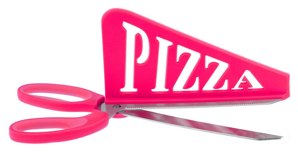 Tijeras con Pala Para Pizzas Bravissima Kitchen Color Surtido
