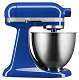 kitchen aid cabinet stand - KitchenAid KSM3311XTB Artisan Mini Series Tilt-Head Stand Mixer, 3.5 quart, Twilight Blue