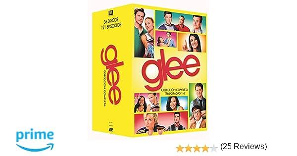 Pack Cierre Franquicia Glee Temporada 1- 6 [DVD]: Amazon.es ...