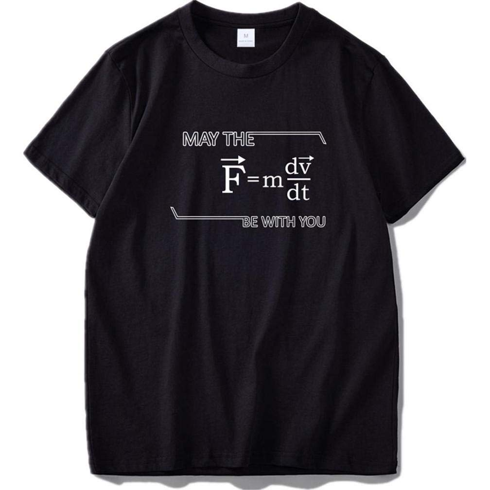 Latte Differenziale Formaggio Matematica 5 S Printing S Funny Short Sleeves Shirts