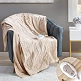Degrees of Comfort Heated Throw + Foot Throw