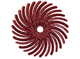 Dedeco Sunburst - 5/8 Inch TC Radial Bristle Discs