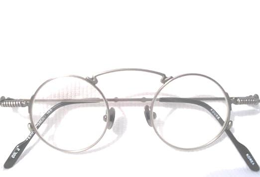 0f03f2dfa3c9 ... PETWER 1920's Style Small Round KOURE EYEGLASSES / Model# 8104 /  Vintage Retro Style Mens Womens / Glasses Eye Glass Frames Eyeglass Frames  / New In Box ...
