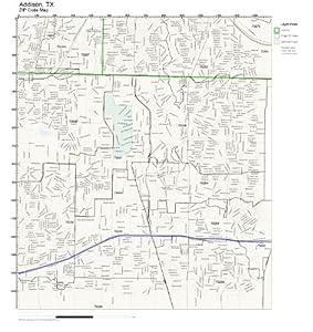 Addison Texas Zip Code Map.Addison Tx Zip Code Map Zip Code Map