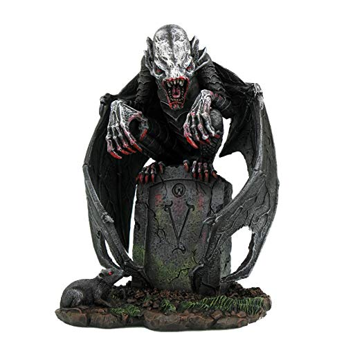 Pacific Giftware Halloween Honor Decor Graveyard Vampire Resin Collectible Figurine