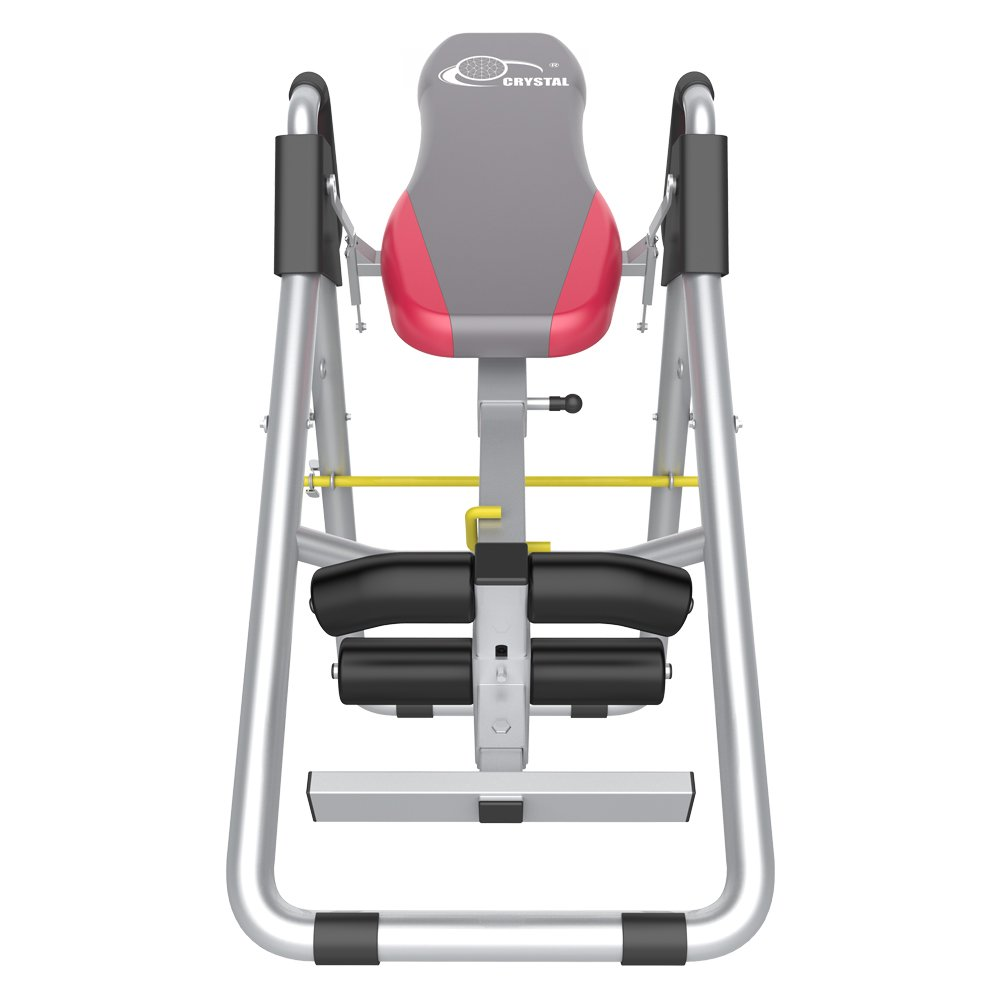 Docheer Heavy Duty Deluxe Inversion Therapy Table Folding Fitness Equipment Back Stretcher Machine for Pain Relief Therapy with Adjustable Height,Wide and Inversion Angle-Grey