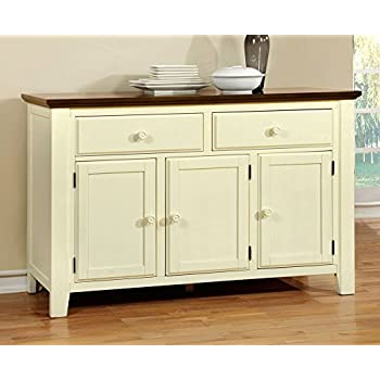 Amazon.com - Furniture of America CM3199WC-SV Sabrina Cherry ...