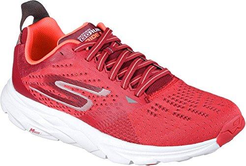 Skechers Performance Men's Go Run Ride 6 Running Shoe, Red, 9.5 M US