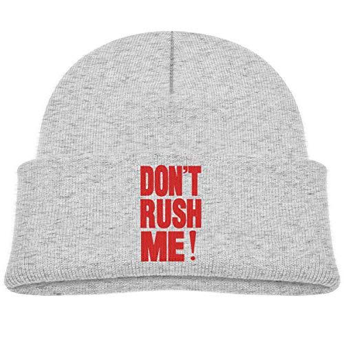 Rush Reversible Beanie - Fzjy Wnx Don't Rush ME Baby Skull Caps Knit Hats