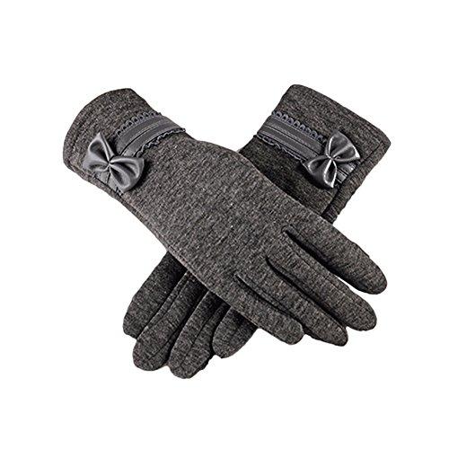 指標隙間マイクロlive foreverスマホ手袋 レデイース グローブ 裏起毛 秋冬用 防寒